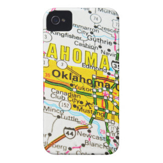 Coque iPhone 4 Case-Mate Ville d'Oklahoma, l'Oklahoma