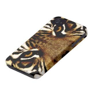 Coque iPhone 4 Case-Mate Yeux d'un tigre