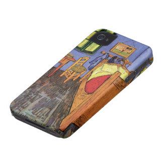 Coque iPhone 4 Chambre à coucher de Van Gogh Vincent dans Arles,
