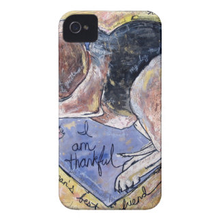 Coque iPhone 4 Chien d'ange