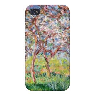 Coque iPhone 4 Claude Monet | Printemps un Giverny