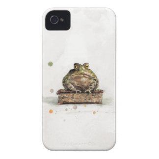 Coque iPhone 4 Crapaud d'aquarelle