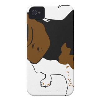 Coque iPhone 4 Cuivrez le beagle