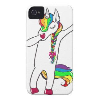 Coque iPhone 4 Dab licorne