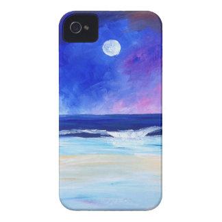 Coque iPhone 4 Danse pour la déclaration réfléchie d'art de lune