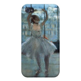 Coque iPhone 4 Danseur d'Edgar Degas | devant une fenêtre