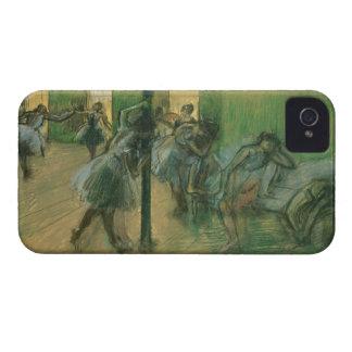 Coque iPhone 4 Danseurs d'Edgar Degas | préparant