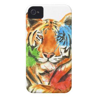 Coque iPhone 4 Éclaboussure de tigre
