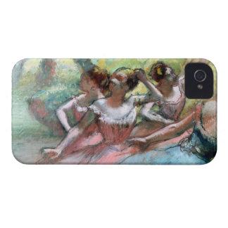 Coque iPhone 4 Edgar Degas | quatre ballerines sur l'étape
