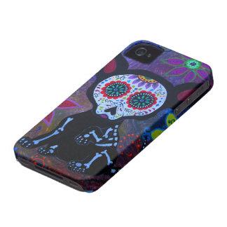 COQUE iPhone 4 EL PERRITO CHIHUAHUA DIA DE LOS MUERTOS