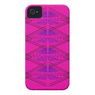 Coque iPhone 4 Éléments de rose d'ethno de conception