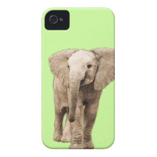 Coque iPhone 4 Éléphant mignon de bébé