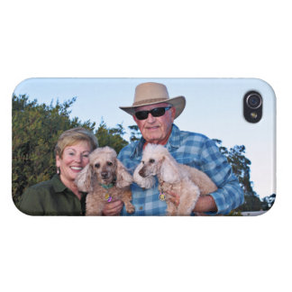 Coque iPhone 4 Épuisement - caniches - Romeo Remy