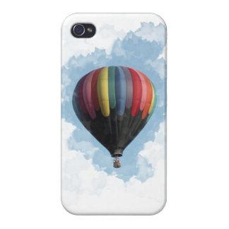 Coque iPhone 4 Et 4S Ballon à air chaud coloré