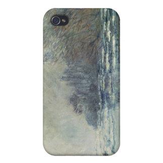 Coque iPhone 4 Et 4S Claude Monet   la coupure chez Vetheuil, c.1883