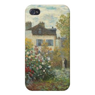 Coque iPhone 4 Et 4S Claude Monet | le jardin de l'artiste à Argenteuil