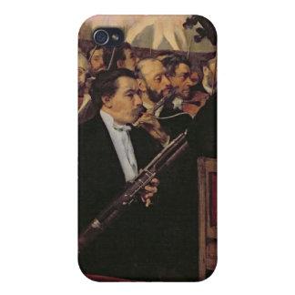 Coque iPhone 4 Et 4S Edgar Degas | l'orchestre d'opéra, c.1870
