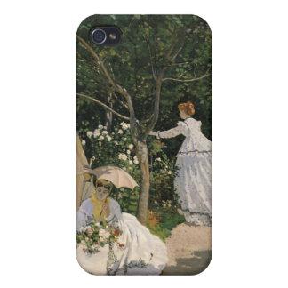 Coque iPhone 4 Et 4S Femmes de Claude Monet | dans le jardin, 1866