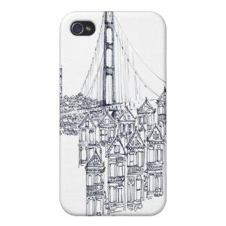 Coque iPhone 4 Et 4S Golden Gate