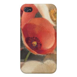 Coque iPhone 4 Et 4S Pavots en pleine floraison