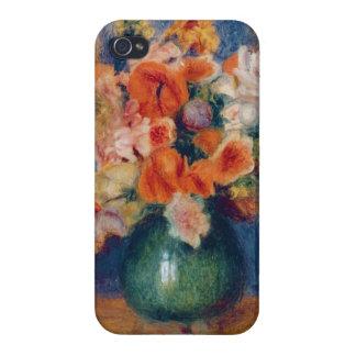 Coque iPhone 4 Et 4S Pierre un bouquet de Renoir |