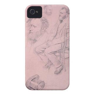 Coque iPhone 4 Étude d'Edgar Degas | pour le portrait d'Edouard