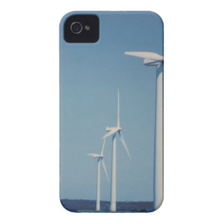 Coque iPhone 4 FANS d'énergie de substitution : VENT, solaire,