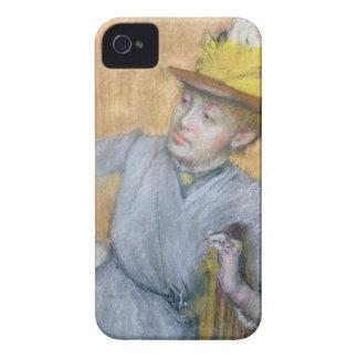 Coque iPhone 4 Femme assise par | d'Edgar Degas, 1887