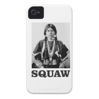 Coque iPhone 4 femme d'Indienne de squaw