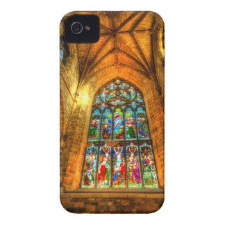 Coque iPhone 4 Fenêtre en verre teinté