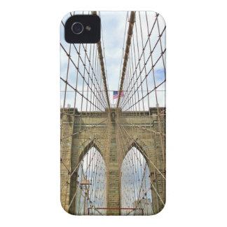 Coque iPhone 4 Fondation de ville de New York Brooklyn de pont