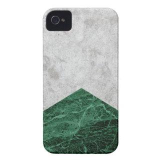 Coque iPhone 4 Granit concret #412 de vert de flèche