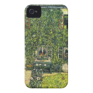 Coque iPhone 4 Gustav Klimt - la Chambre de Guardaboschi
