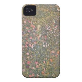 Coque iPhone 4 Gustav Klimt - paysage horticole italien