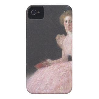 Coque iPhone 4 Gustav Klimt - portrait de Bildnis Sonja Knips