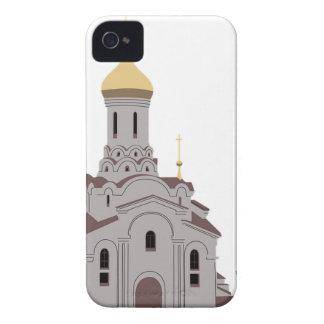 Coque iPhone 4 Illustration de cathédrale