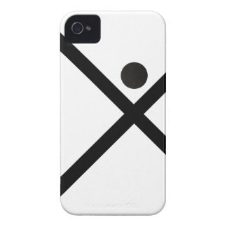 Coque iPhone 4 iPhone 4/4S Man Case (The C.Design Company Logo)
