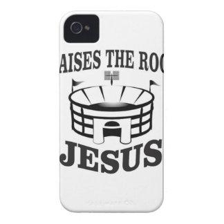 Coque iPhone 4 Jésus soulève le toit ouais