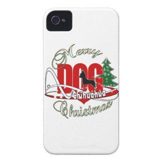 Coque iPhone 4 Joyeux Noël de chiwawa