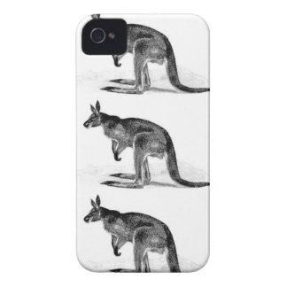 Coque iPhone 4 kangourou enfermé dans une boîte - dans le carré