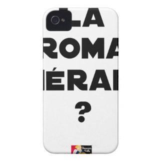 Coque iPhone 4 La Roma Thérapie - Jeux de Mots - Francois Ville