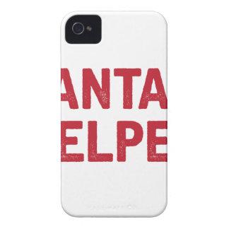Coque iPhone 4 L'aide de Père Noël
