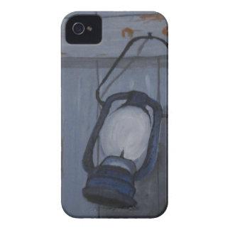 Coque iPhone 4 Lanterne bleue