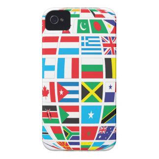 Coque iPhone 4 Le monde marque le globe