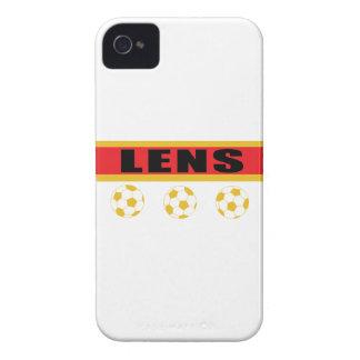 Coque iPhone 4 Lens football Pas-de-Calais