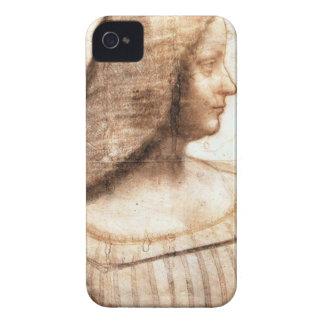 Coque iPhone 4 Leonardo da Vinci - peinture d'Isabella D'este