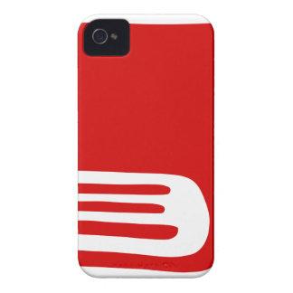 Coque iPhone 4 Livre rouge
