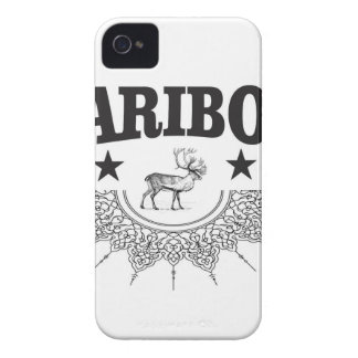 Coque iPhone 4 logo de tasse de caribou