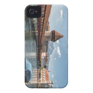 Coque iPhone 4 Luzerne de pont de chapelle, Suisse