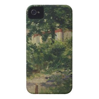 Coque iPhone 4 Manet | un coin du jardin en Rueil, 1882